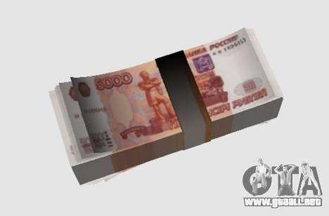 5000 rublos para GTA San Andreas