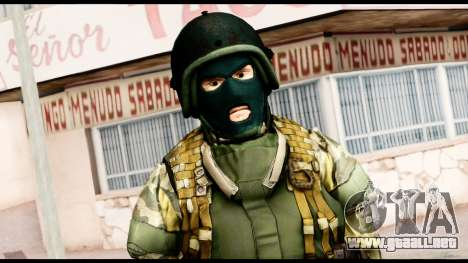Support Troop from Battlefield 4 v1 para GTA San Andreas tercera pantalla
