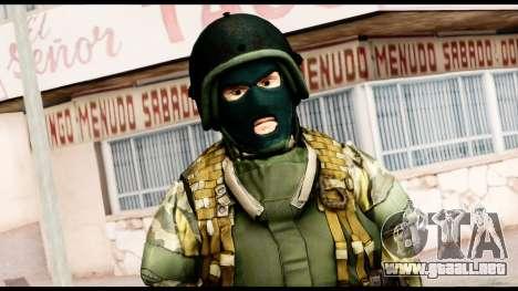 Support Troop from Battlefield 4 v1 para GTA San Andreas tercera pantalla