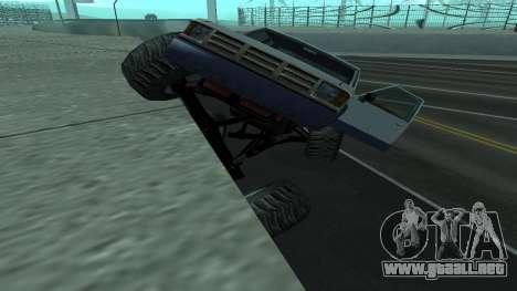 La nueva física de los coches v2 para GTA San Andreas tercera pantalla