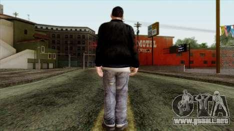 GTA 4 Skin 46 para GTA San Andreas segunda pantalla