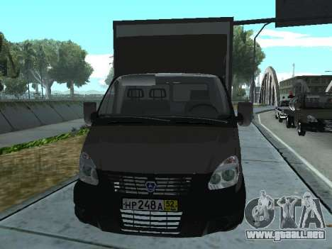 GAZel 3302 para GTA San Andreas left