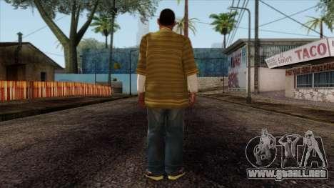 GTA 4 Skin 73 para GTA San Andreas segunda pantalla