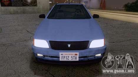 GTA V Ingot para la visión correcta GTA San Andreas