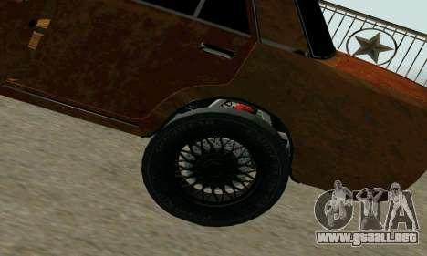VAZ 2101 Ratlook v2 para la visión correcta GTA San Andreas