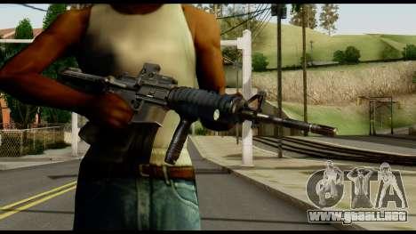 SOPMOD from Metal Gear Solid v2 para GTA San Andreas tercera pantalla