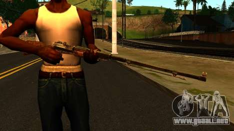 La Válvula (Metro: Last Light) para GTA San Andreas tercera pantalla