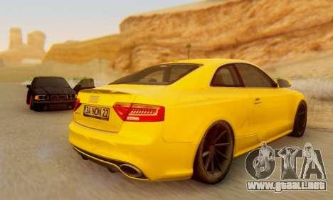 Audi RS5 (RC) para la visión correcta GTA San Andreas