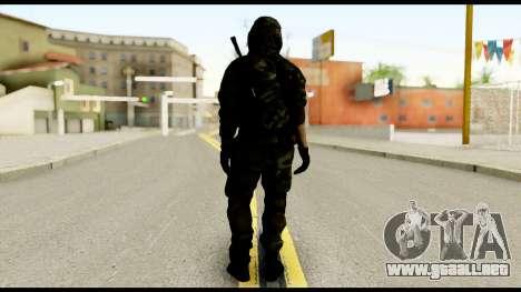 Sniper from Battlefield 4 para GTA San Andreas segunda pantalla
