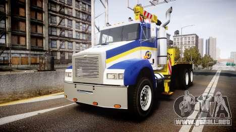 HVY Biff Indonesian Jasamarga Tow Truck [ELS] para GTA 4