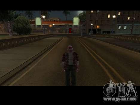 Skin Changer para GTA San Andreas segunda pantalla