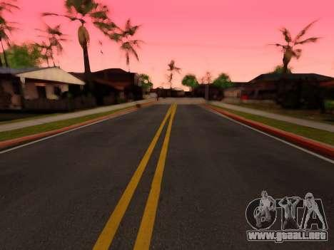 Mejora de la textura de carreteras para GTA San Andreas