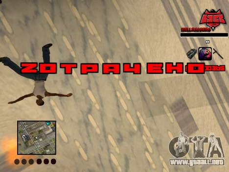 C-HUD Raisers para GTA San Andreas quinta pantalla