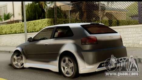Audi A3 Tuning para GTA San Andreas left