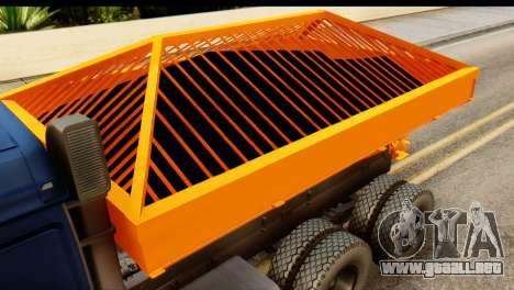 KamAZ 65115 Quitanieves para GTA San Andreas