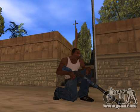 Año nuevo Pack de Armas para GTA San Andreas quinta pantalla