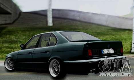 BMW 525 E34 Rims para GTA San Andreas left