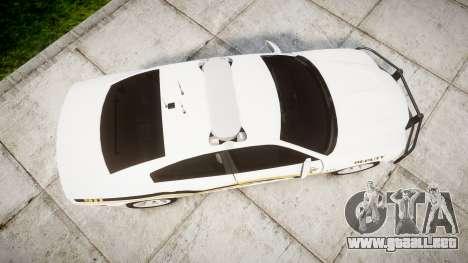 Dodge Charger 2013 Sheriff [ELS] v3.2 para GTA 4 visión correcta