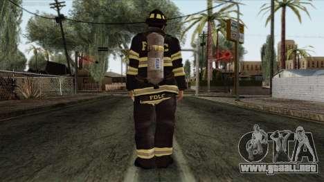 GTA 4 Skin 45 para GTA San Andreas segunda pantalla