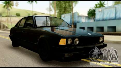 BMW E32 para GTA San Andreas
