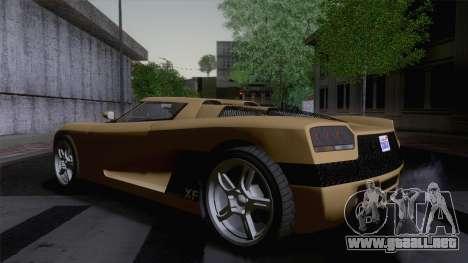 GTA V Overflod Entity XF v.2 (IVF) para GTA San Andreas left