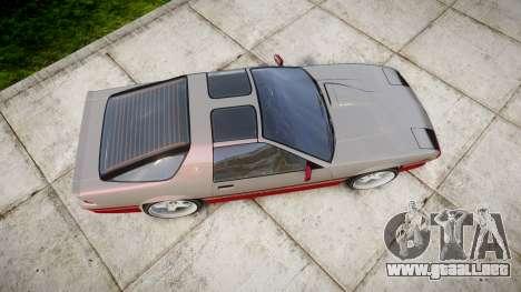 Imponte Ruiner GT para GTA 4 visión correcta