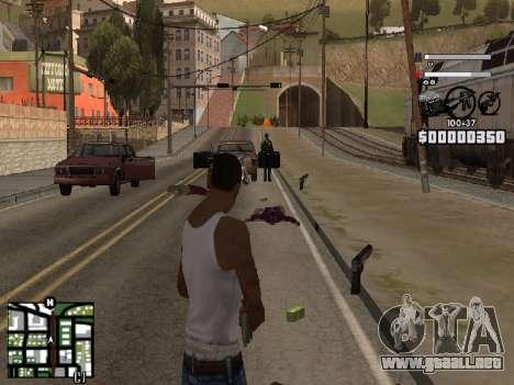 Nice C-HUD para GTA San Andreas tercera pantalla