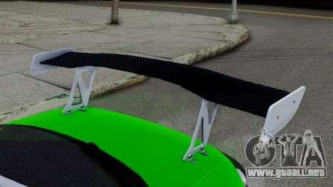Nissan Silvia S15 para GTA San Andreas vista posterior izquierda