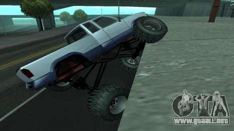 La nueva física de los coches v2 para GTA San Andreas