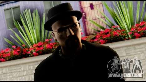 Heisenberg from Breaking Bad v2 para GTA San Andreas tercera pantalla