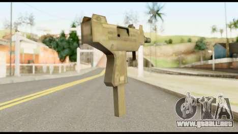 New Micro SMG para GTA San Andreas segunda pantalla