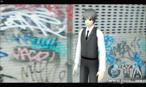 Kaneki Ken (Tokyo Ghoul) para GTA San Andreas