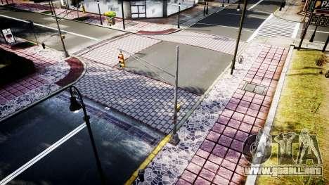 La textura de carreteras de alta definición de 2 para GTA 4