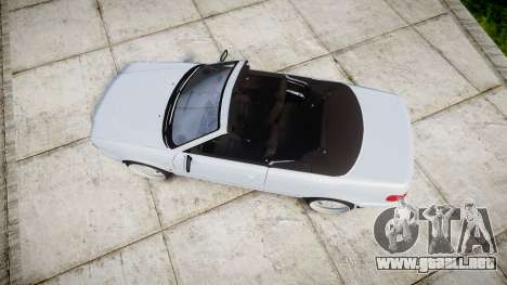 Audi 80 Cabrio euro tail lights para GTA 4 visión correcta