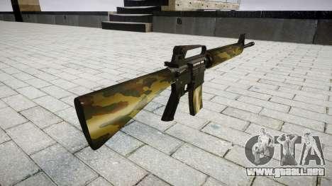 El rifle M16A2 flora para GTA 4 segundos de pantalla