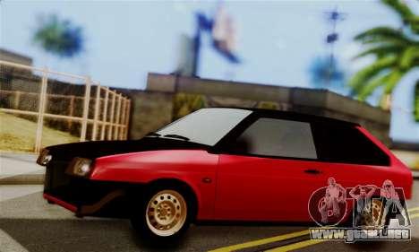 VAZ 2108 Hobo para GTA San Andreas left