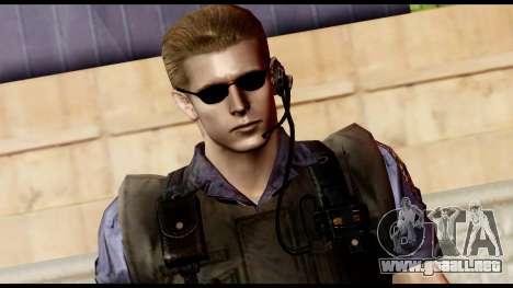 Resident Evil Skin 11 para GTA San Andreas tercera pantalla
