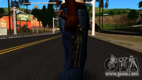 Pistol from Shadow Warrior para GTA San Andreas tercera pantalla