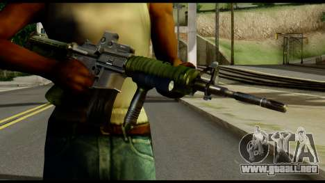 SOPMOD from Metal Gear Solid para GTA San Andreas tercera pantalla