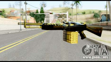 M63 from Metal Gear Solid para GTA San Andreas