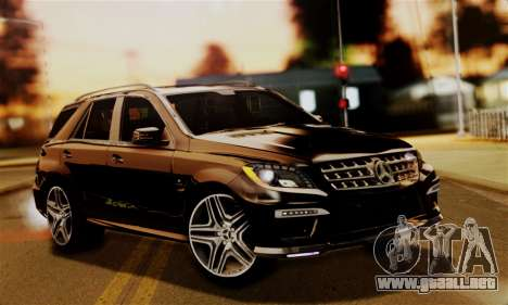 Mercedes-Benz ML63 AMG para GTA San Andreas