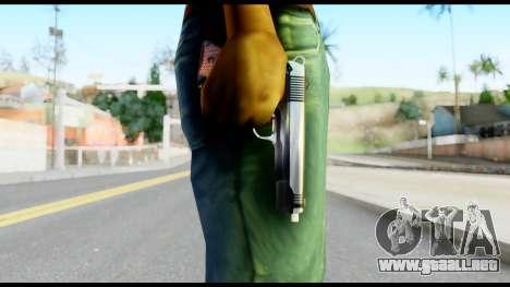 Colt 1911A1 from Metal Gear Solid para GTA San Andreas tercera pantalla