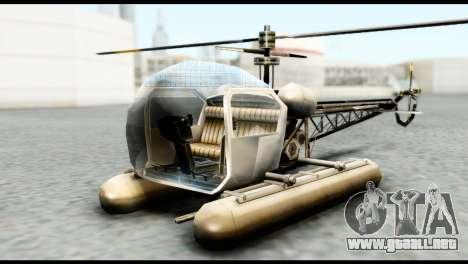 Beta Seasparrow para GTA San Andreas