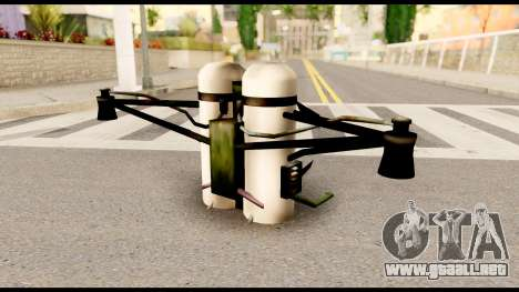 Fury Jetpack from Metal Gear Solid para GTA San Andreas