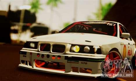 BMW M3 E36 Darnitsa Bandits para la visión correcta GTA San Andreas
