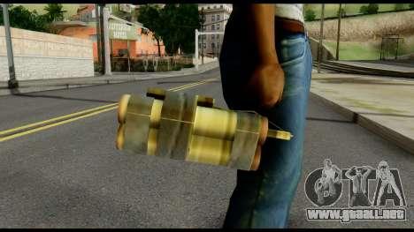 TNT from Metal Gear Solid para GTA San Andreas tercera pantalla
