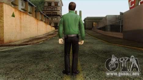 Police Skin 8 para GTA San Andreas segunda pantalla