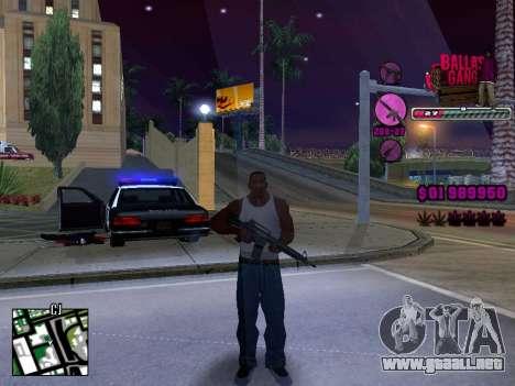 C-HUD Ballas TAWER para GTA San Andreas