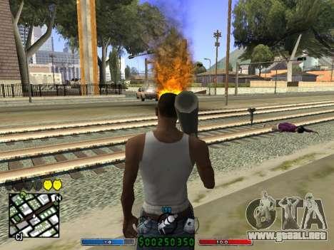 C-HUD v2.0 para GTA San Andreas