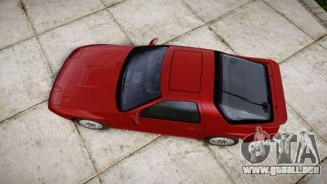 Mazda RX-7 1990 FC3s [EPM] para GTA 4 visión correcta